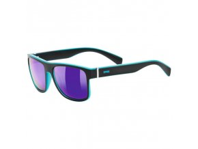uvex lgl 21 black mat blue/mirror blue S3