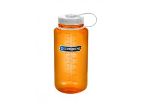 NALGENE Wide Mouth ORANGE/WHITE