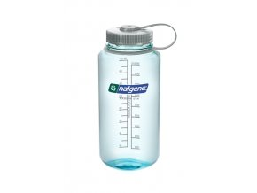 NALGENE Wide Mouth SEAFOAM/SILVER