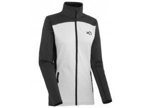 KARI TRAA KAIA F/Z FLEECE WHITE