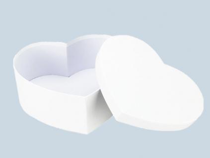 srdce biele