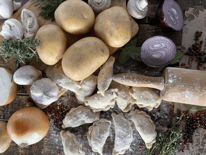 Vareniki brambory