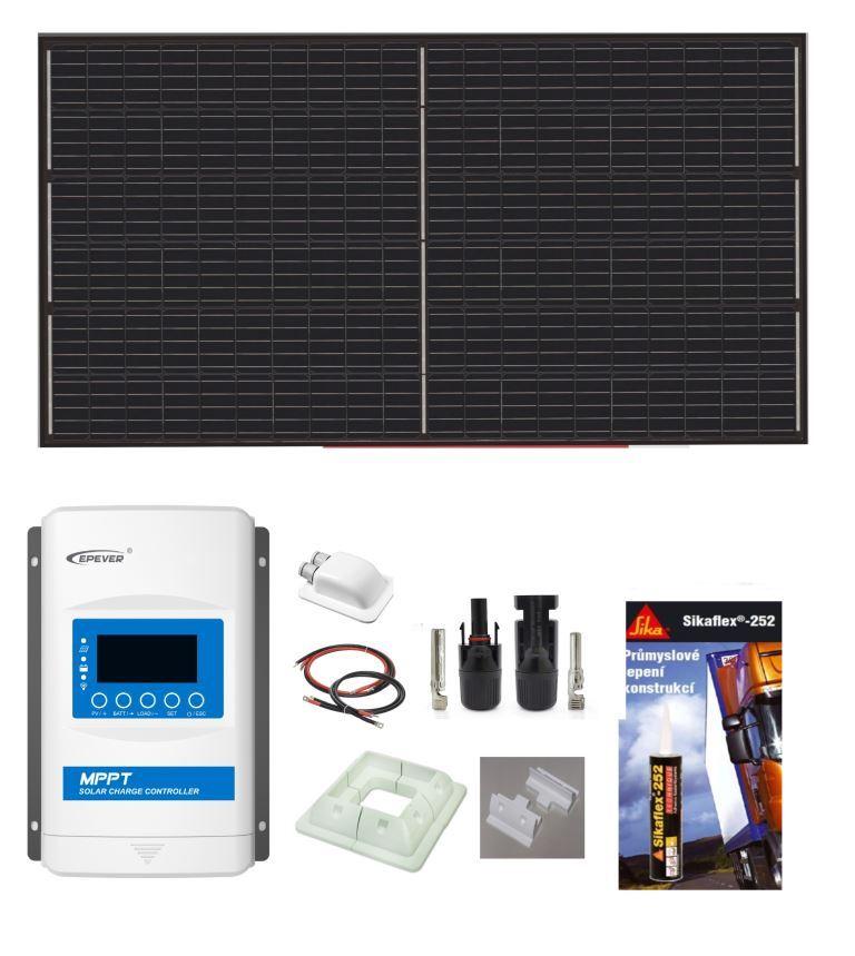 Solární komplet 330 Wp
