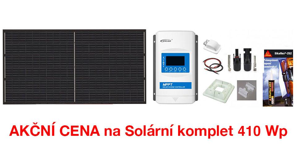 AKČNÍ cena na solární komplet 330wp
