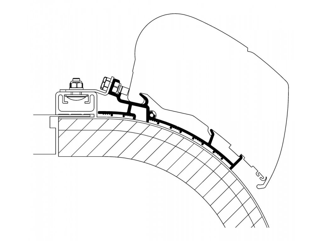 Střešní adaptér Rapido Distinction