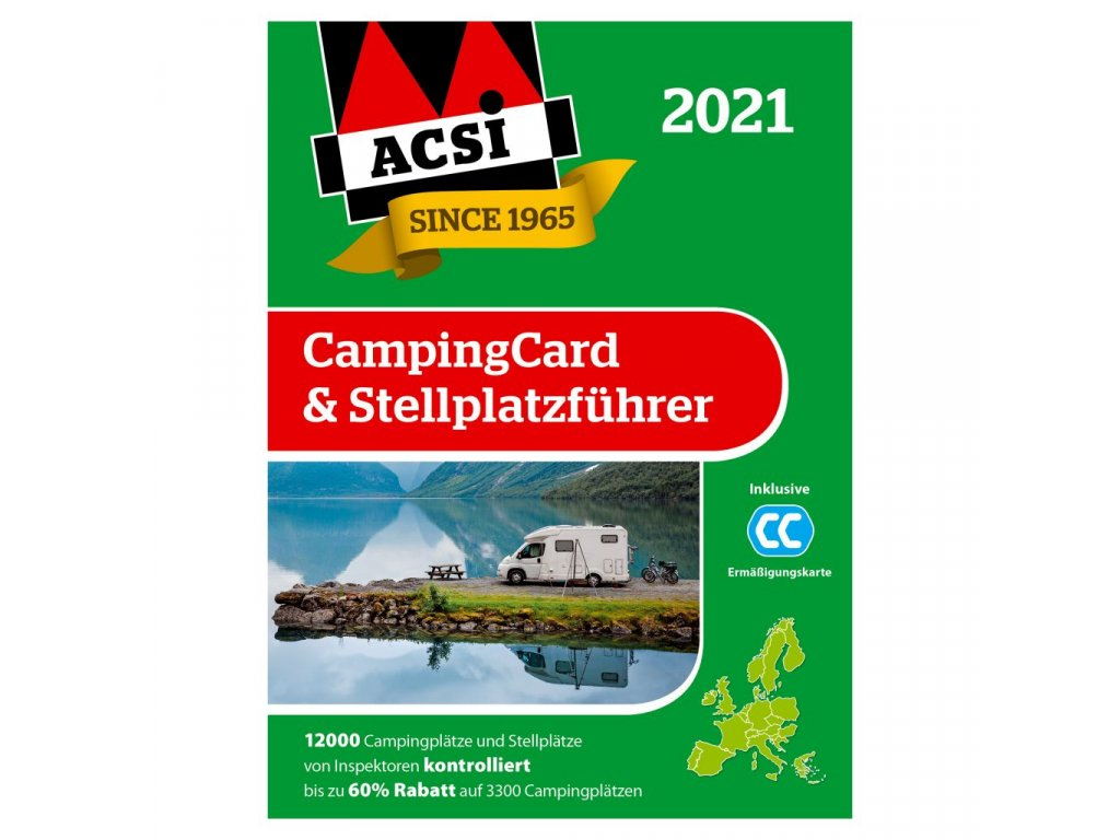 Průvodce ACSI CampingCard & Campsite