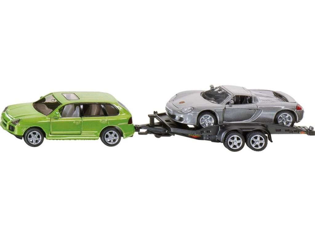 Osobní automobil s přívěsem do auta