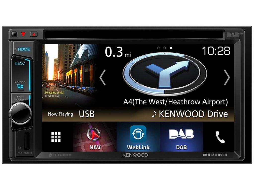 Navigační systém Kenwood DNX451RVS