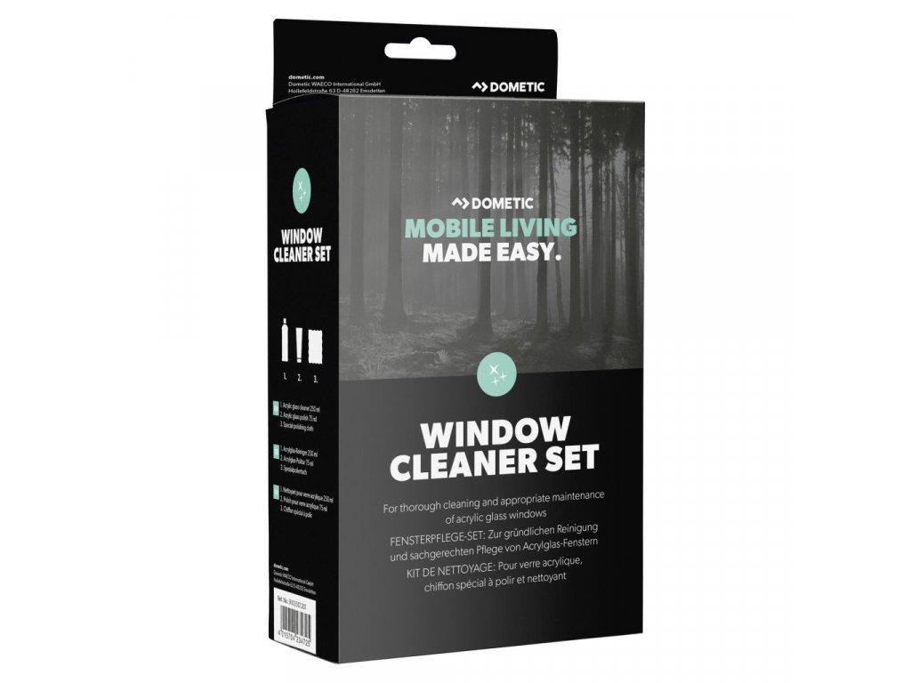 Sada pro čištění a péči o okna