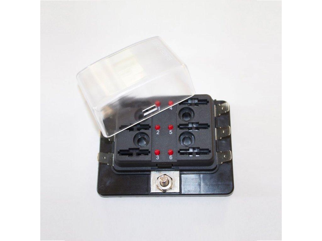 Bezpečnostní potrubí 6 FS-LED