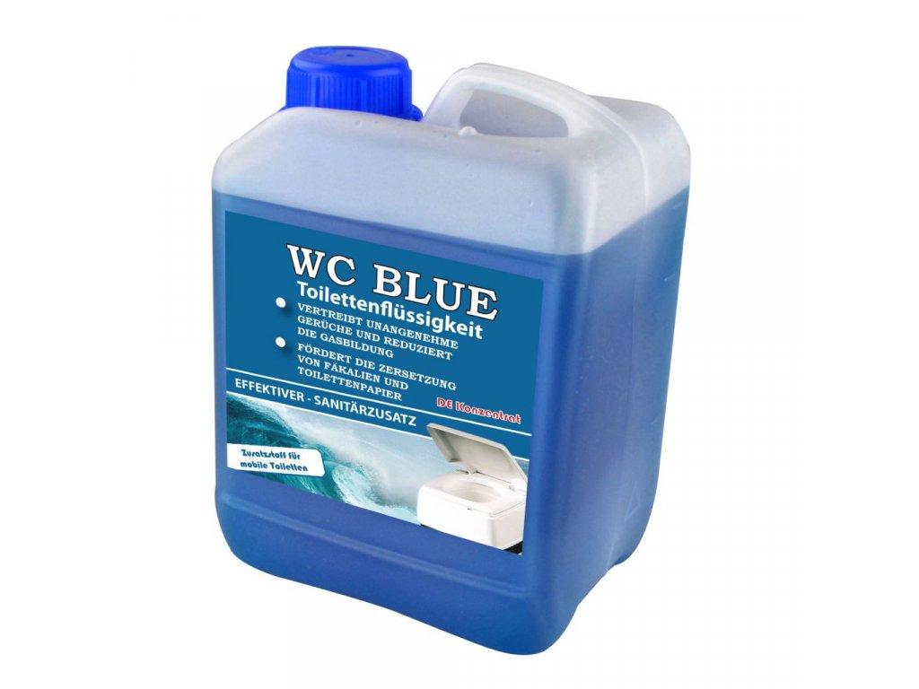Sanitární koncentrát WC modrá