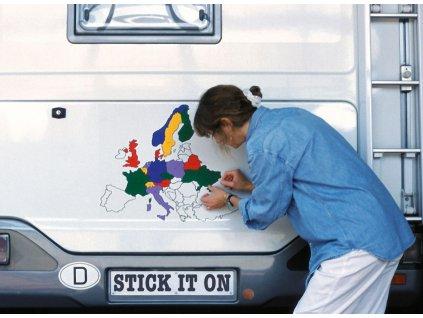Fototapeta Set Europe
