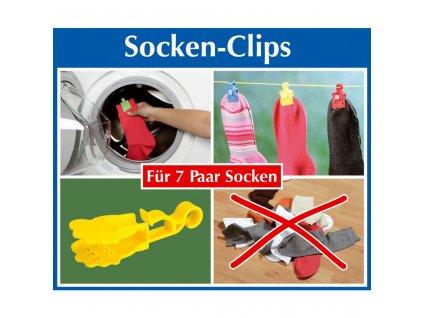 Klips na ponožky