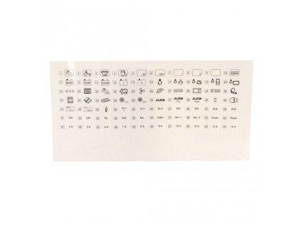 MT piktogramová fólie