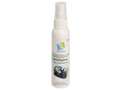 Dezinfekční prostředek pro biolysan reisehygiene