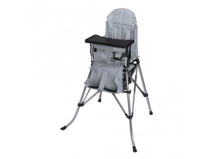 Dětská židle Femstar One2Stay Comfort, stříbrná
