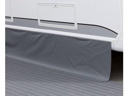 Krycí plachta podlahy tmavě šedá, 4 x 0,5 m