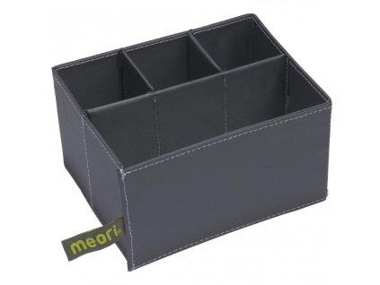 Vložka pro skládací krabice meori Mini, 3 + 1 přihrádky