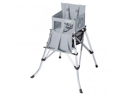Dětská židle Femstar One2Stay, stříbrná