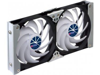 Dvojitá ventilační sada Titan pro ledničky, ø 92 mm