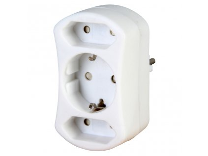 Euro and Safety Adapter 2+1