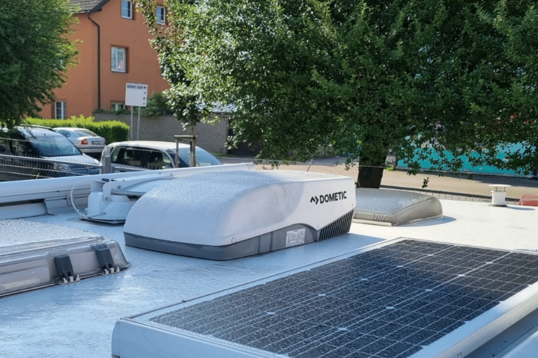 Výběr a instalace klimatizace do karavanu