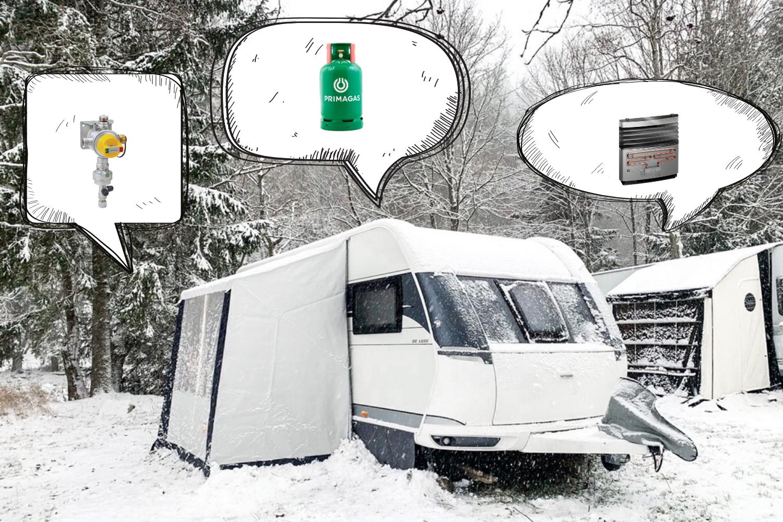 3 zimní vychytávky, bez kterých se v karavanu neobejdeme