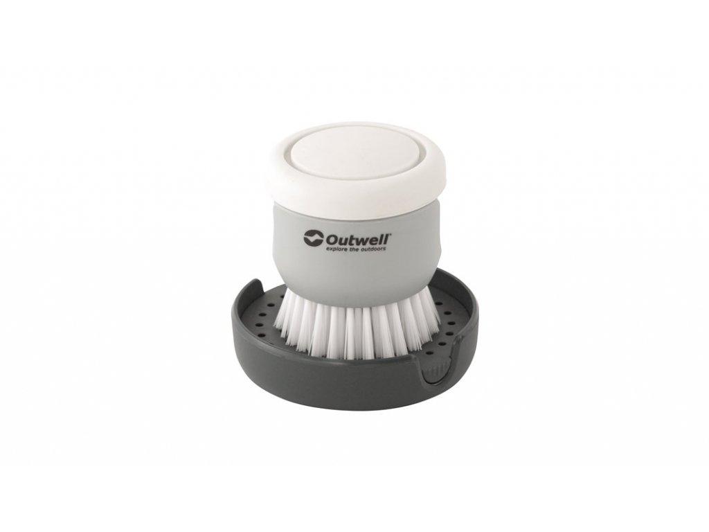 650983 Kitson Brush w Soap Dispenser Main photo1