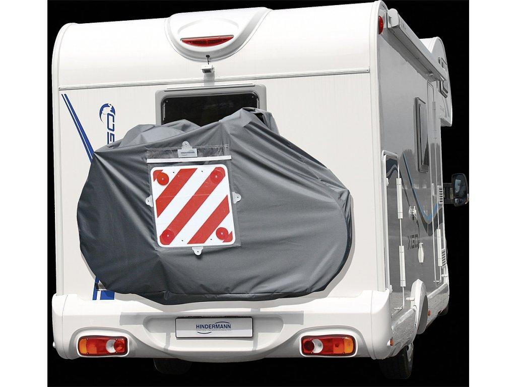 HM Ochranný kryt pro nosič 3 kol City, grafitově šedá