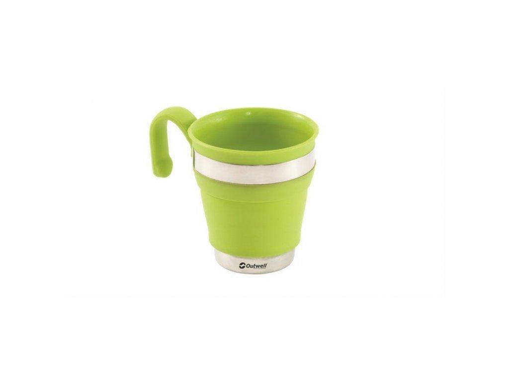 650340 Collaps Mug Lime Green Main photo 1