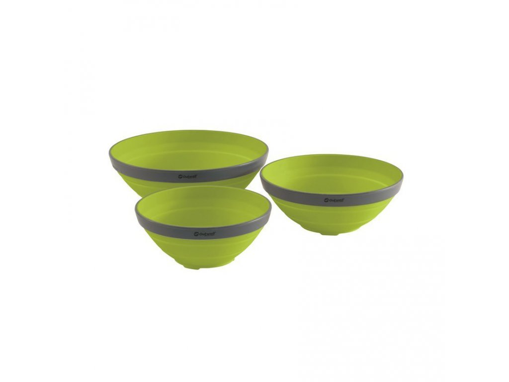 650681 Collaps Bowl Set Lime Green Main photo 1