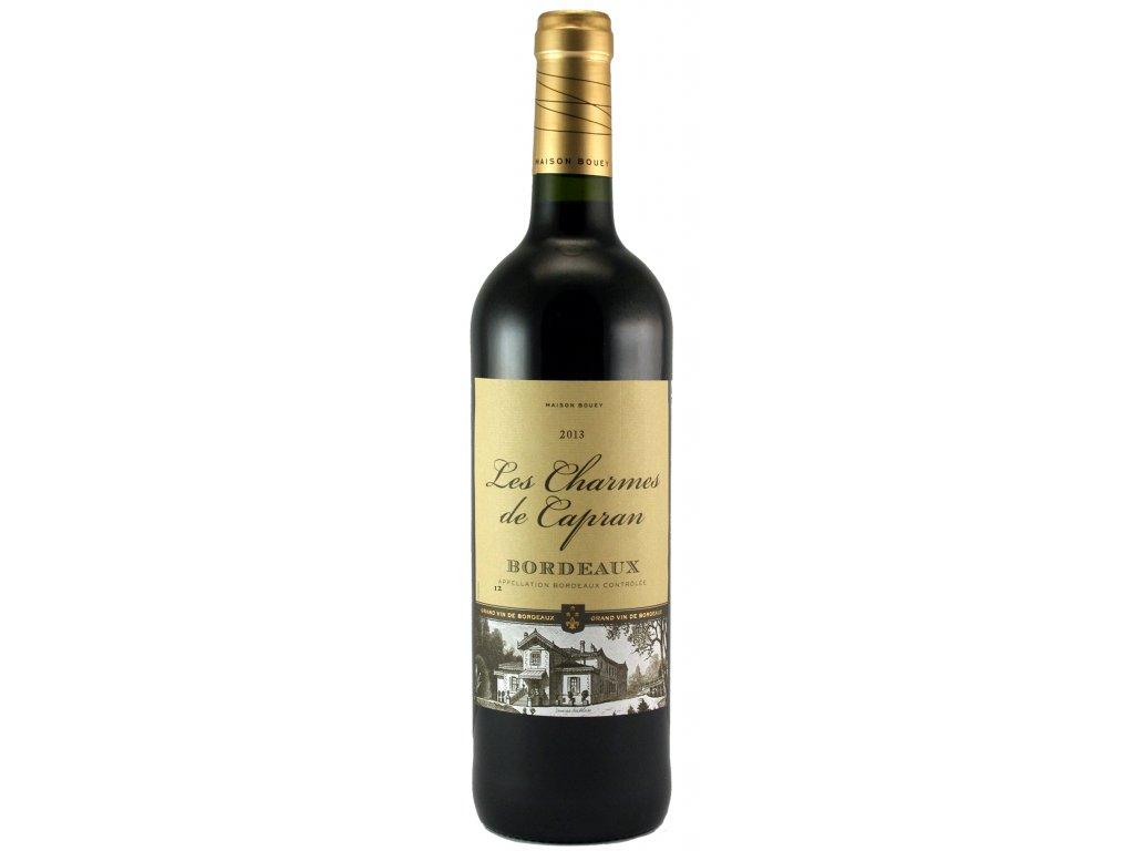 Charmes de Capran Bordeaux 2013 non medaille
