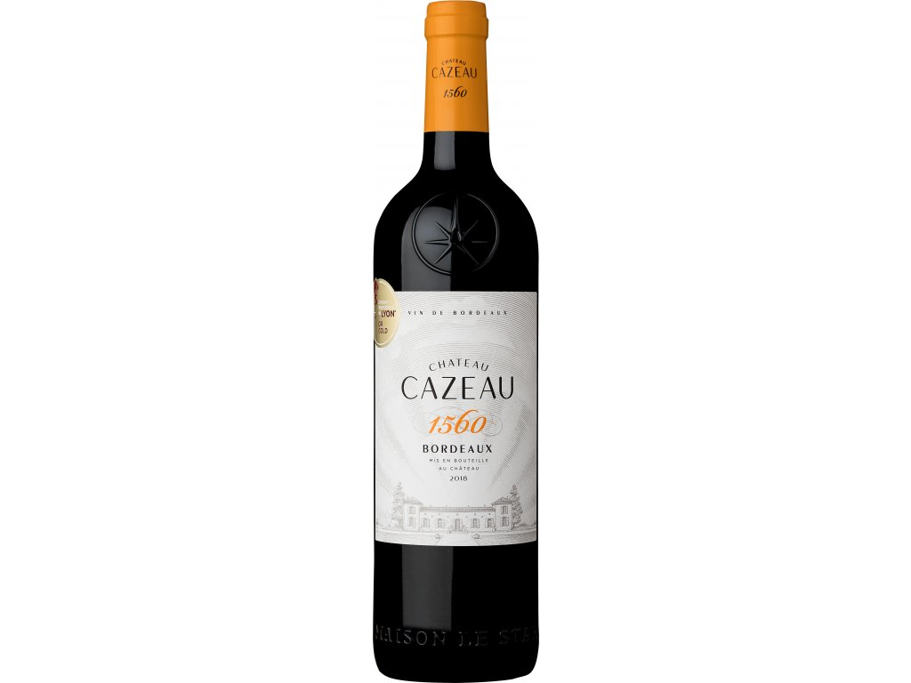 Bordeaux Ch Cazeau1560