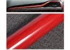 carbon 5d karbon cervena red wrap vinyl 003