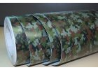 152cm x 8m CAMOUFLAGE FOLIE 3D ARMY tvarovatel0á