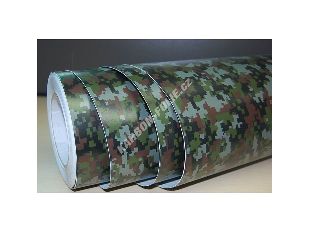 25cm x 25cm camouflage folie 3d army tvarovateln karbon. Black Bedroom Furniture Sets. Home Design Ideas