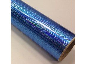 fantasy 1 4 mosaic sky blue svetle modra folie s holografickym efektem 001
