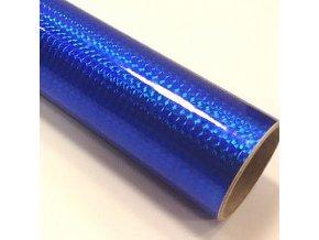 fantasy 1 4 mosaic royal blue tmave modra folie s holografickym efektem 001