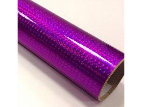 fantasy 1 4 mosaic purple purpurova folie s holografickym efektem 001