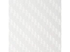 152cm x 10m BÍLÁ CARBON FOLIE 3D - KARBON FOLIE