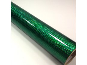 fantasy 1 4 mosaic emerald green prime tmave zelena folie s holografickym efektem 001