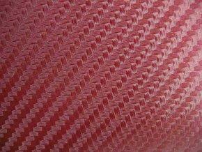 152cm x 8m VÍNOVÁ CARBON FOLIE 3D - KARBON FOLIE