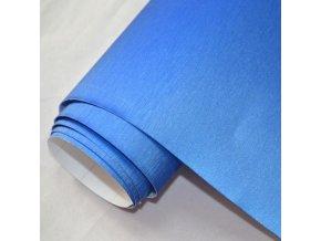brouseny kov modry 3d brushed blue vinyl wrap 001