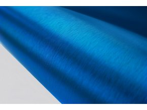brouseny kov modry 3d brushed blue vinyl wrap 003