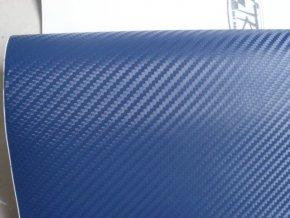 152cm x 4m TMAVÁ MODRÁ CARBON FOLIE 3D - KARBON FOLIE