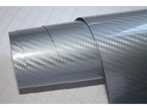 carbon 5d karbon stribrna silver wrap vinyl 001