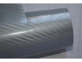 carbon 5d karbon stribrna silver wrap vinyl 002