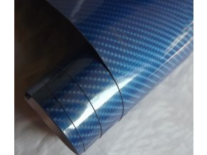 carbon 5d karbon modra blue wrap vinyl 001
