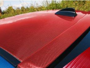 carbon 5d karbon cervena red wrap vinyl 004