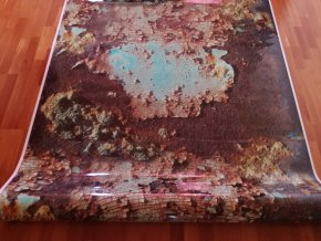3d folie imitace rezaveho plechu rusty camouflage vinyl car body film typ17 008